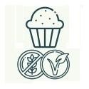 Vegana y sin gluten