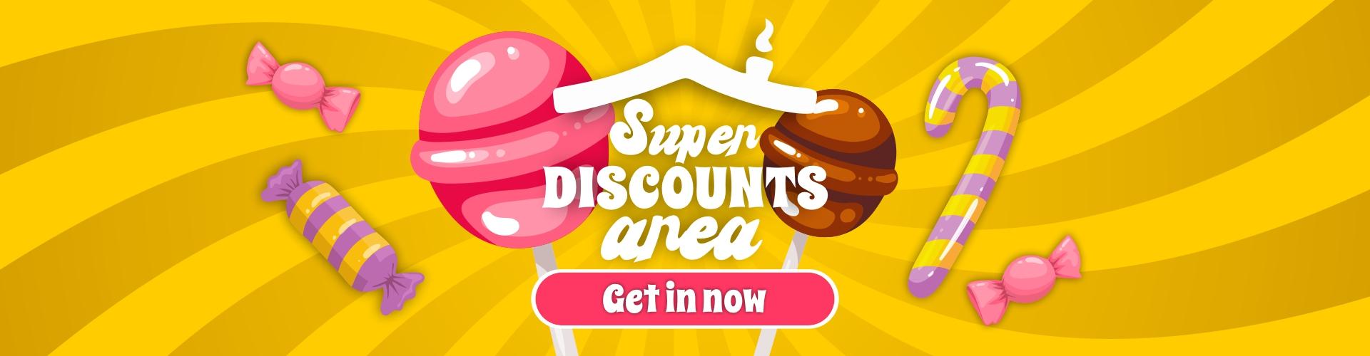 Super discounts area